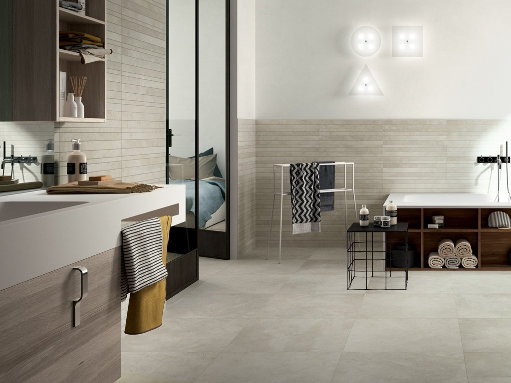 Urban Style Tiles Indesign Showroom London Kitchens