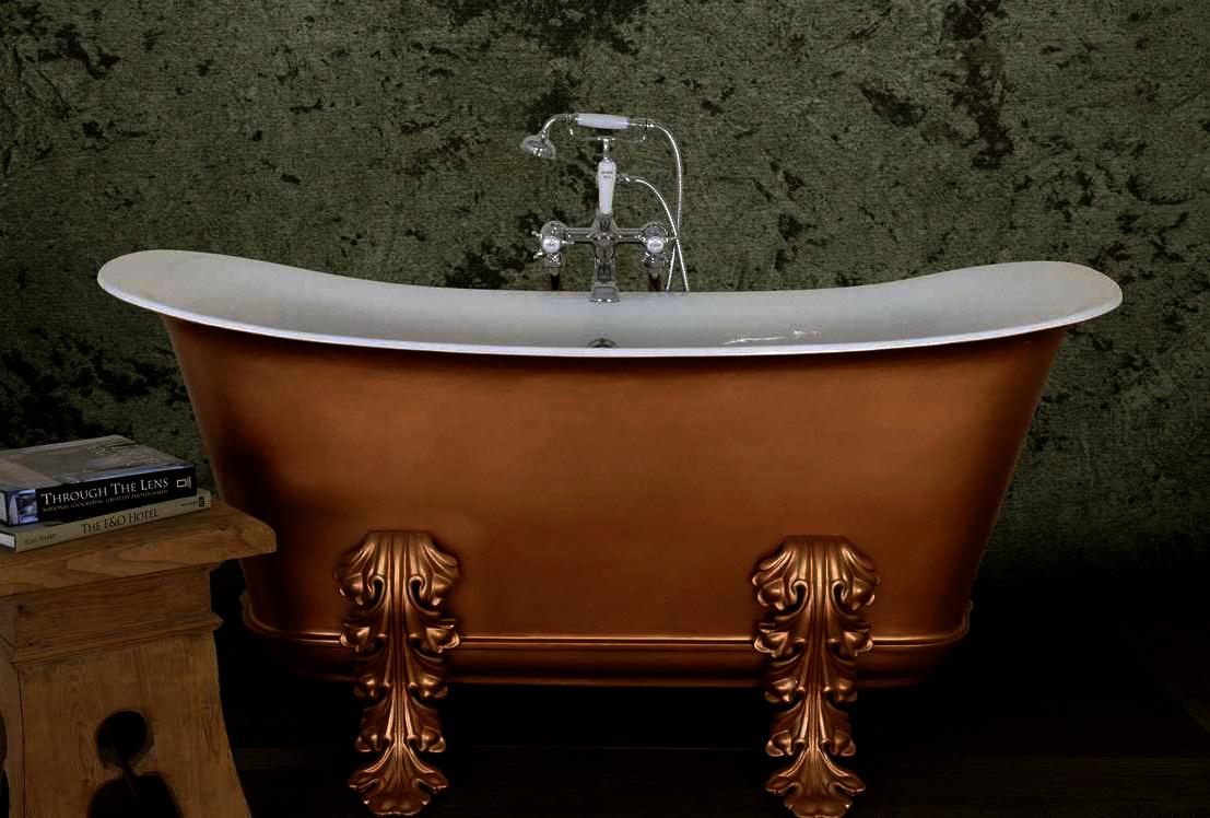 1 - Painted Copper - Acanthus Empire