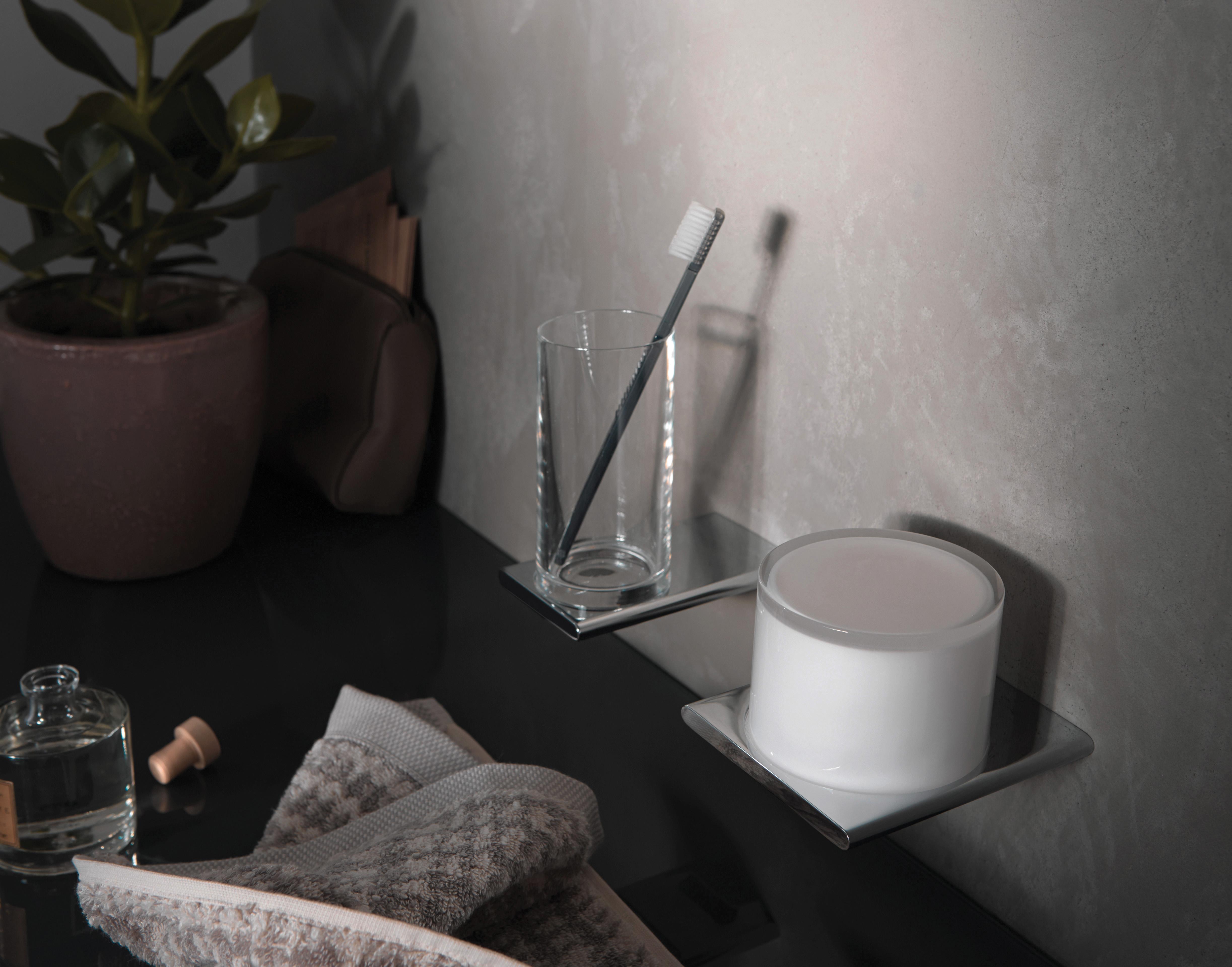 4 - Glass Holder _ Lotion Dispenser