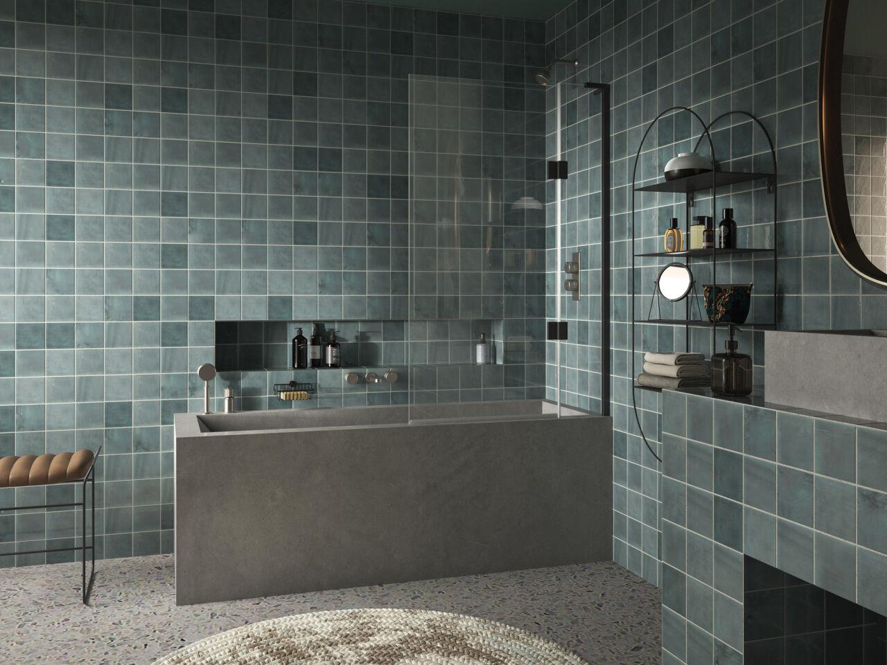 1 - Eauzone Plus Double Panel Bath Screen