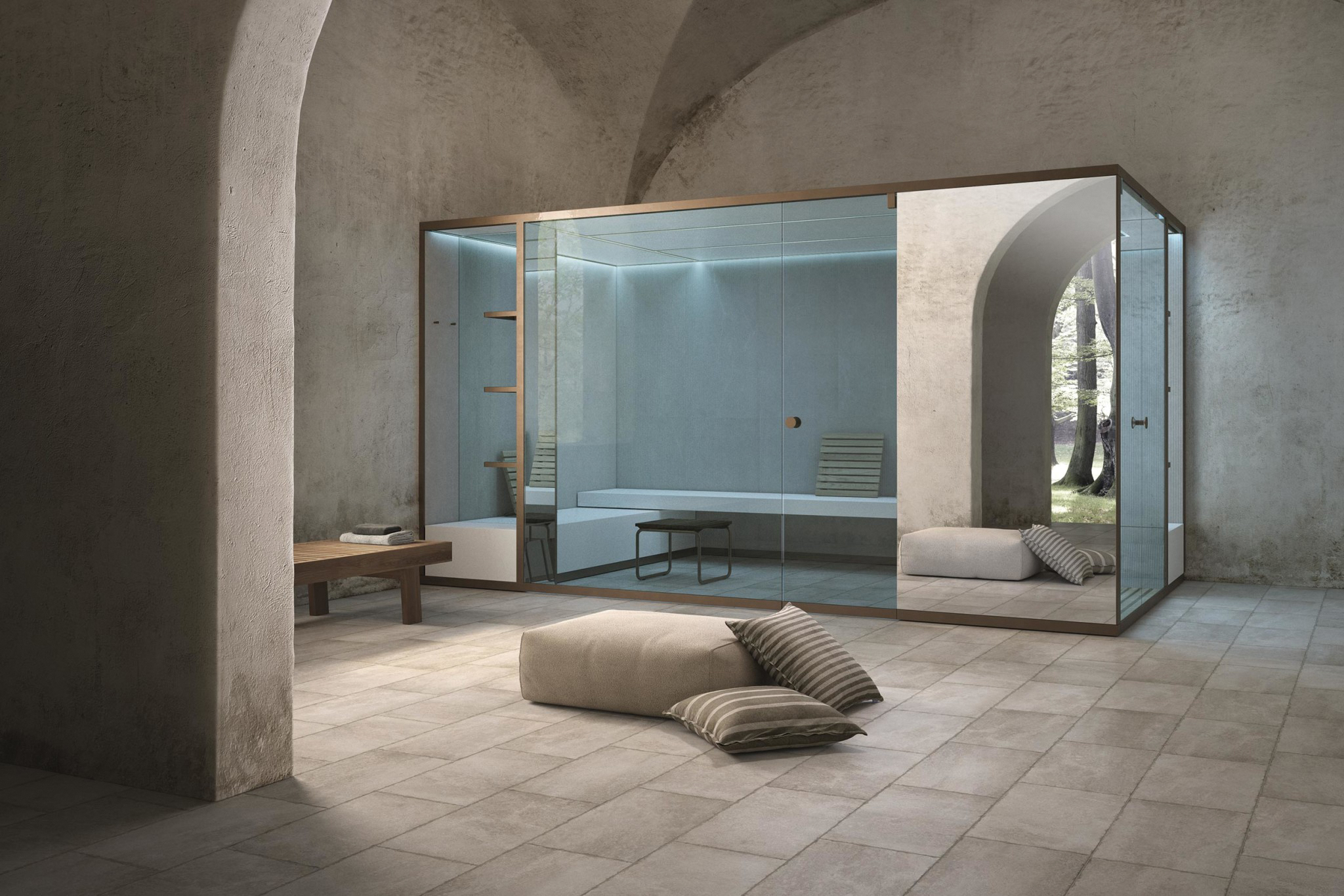 1 - Hammam Made To Measure With Mirror Surface