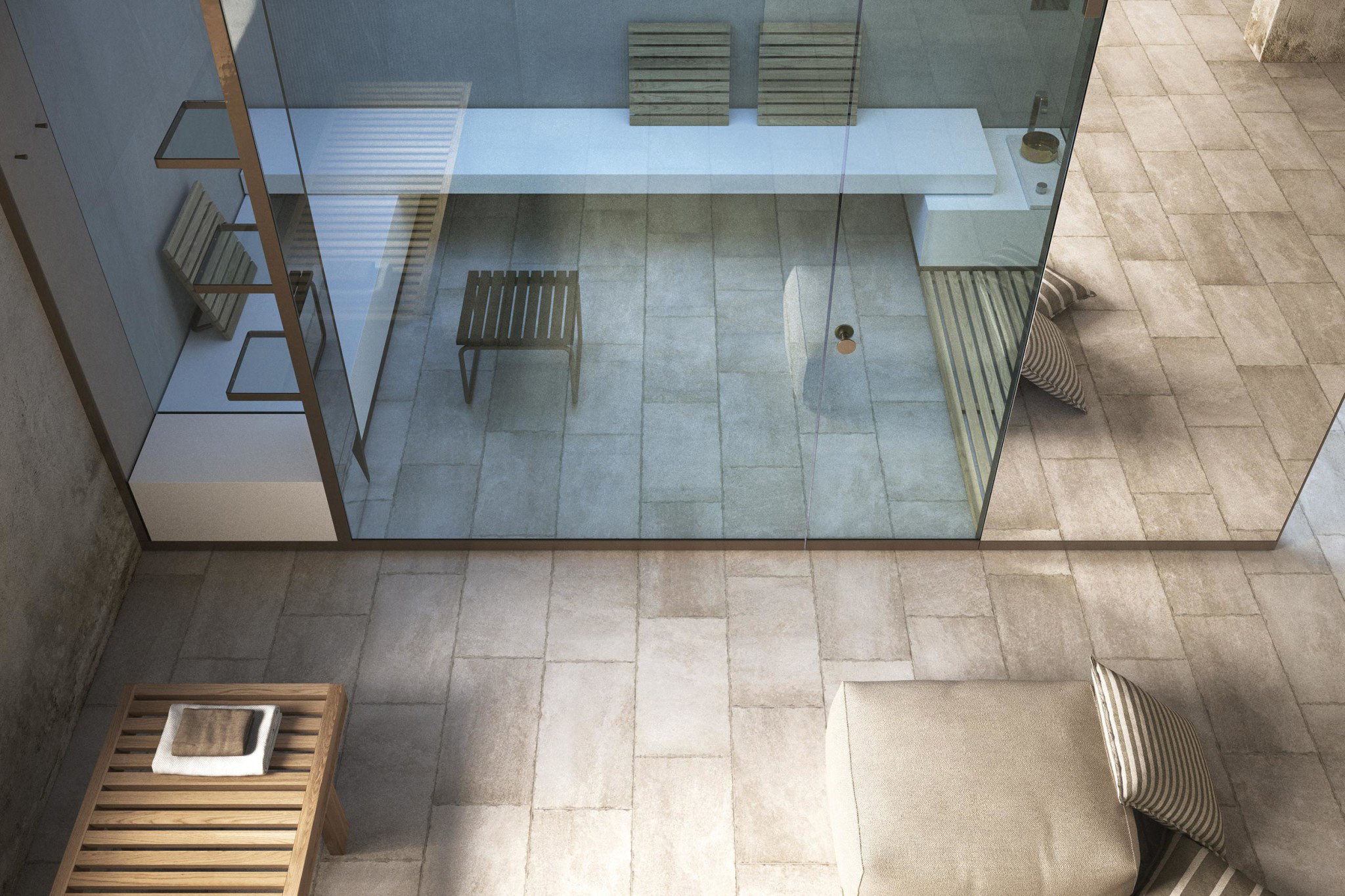2 - Hammam Made To Measure With Mirror Surface