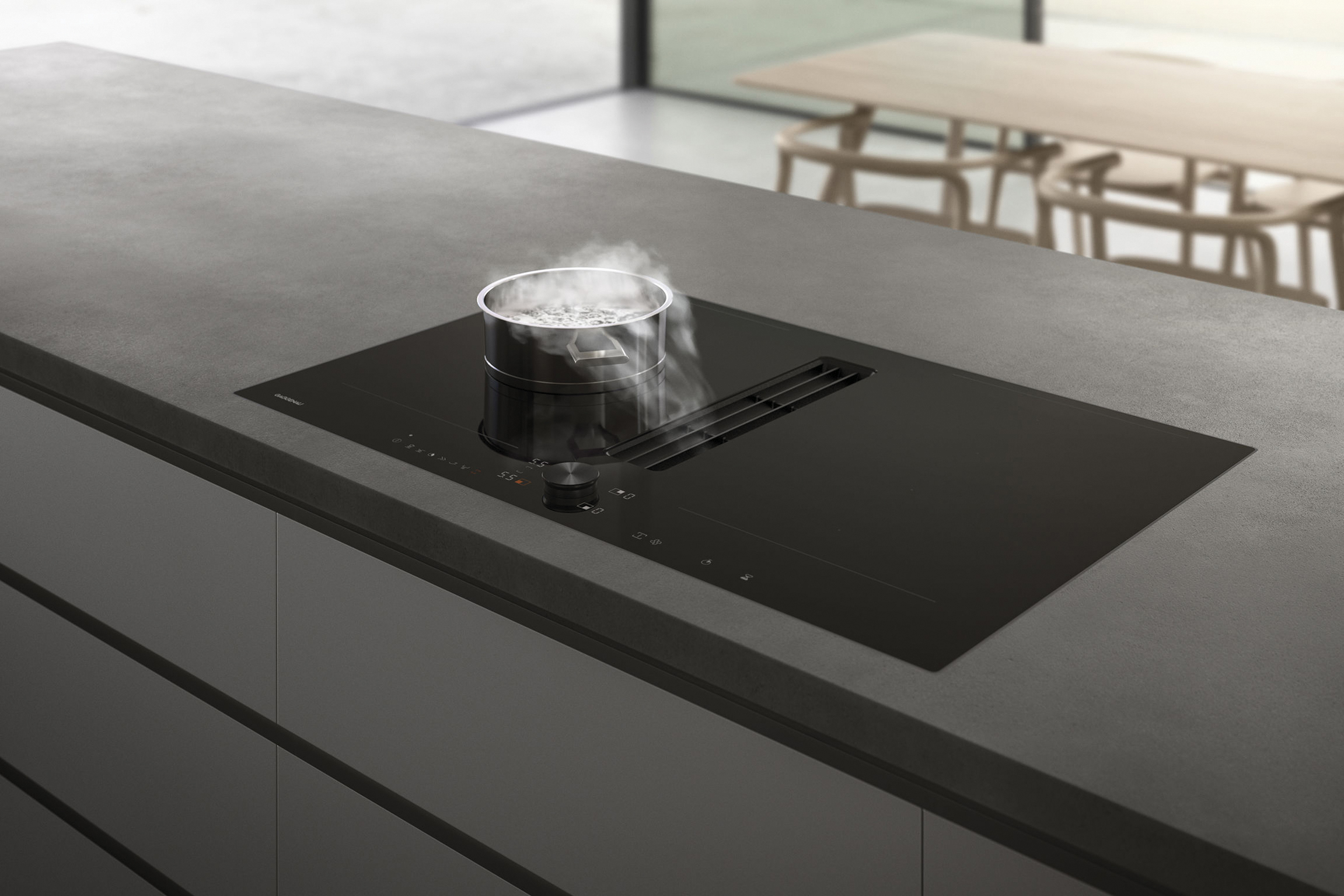 2 - Series 200 - Flex Induction with Integrated Ventilation System