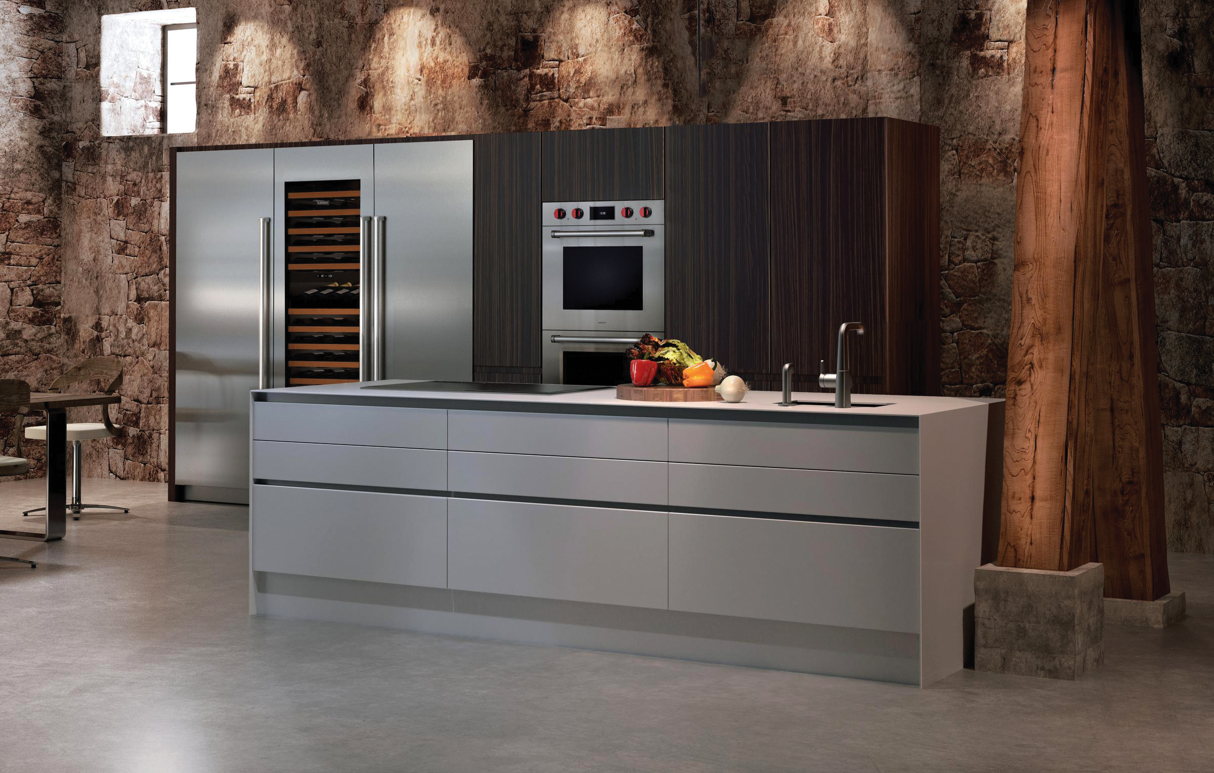 3 - BUILT-IN M SERIES PROFESSIONAL DOUBLE OVEN