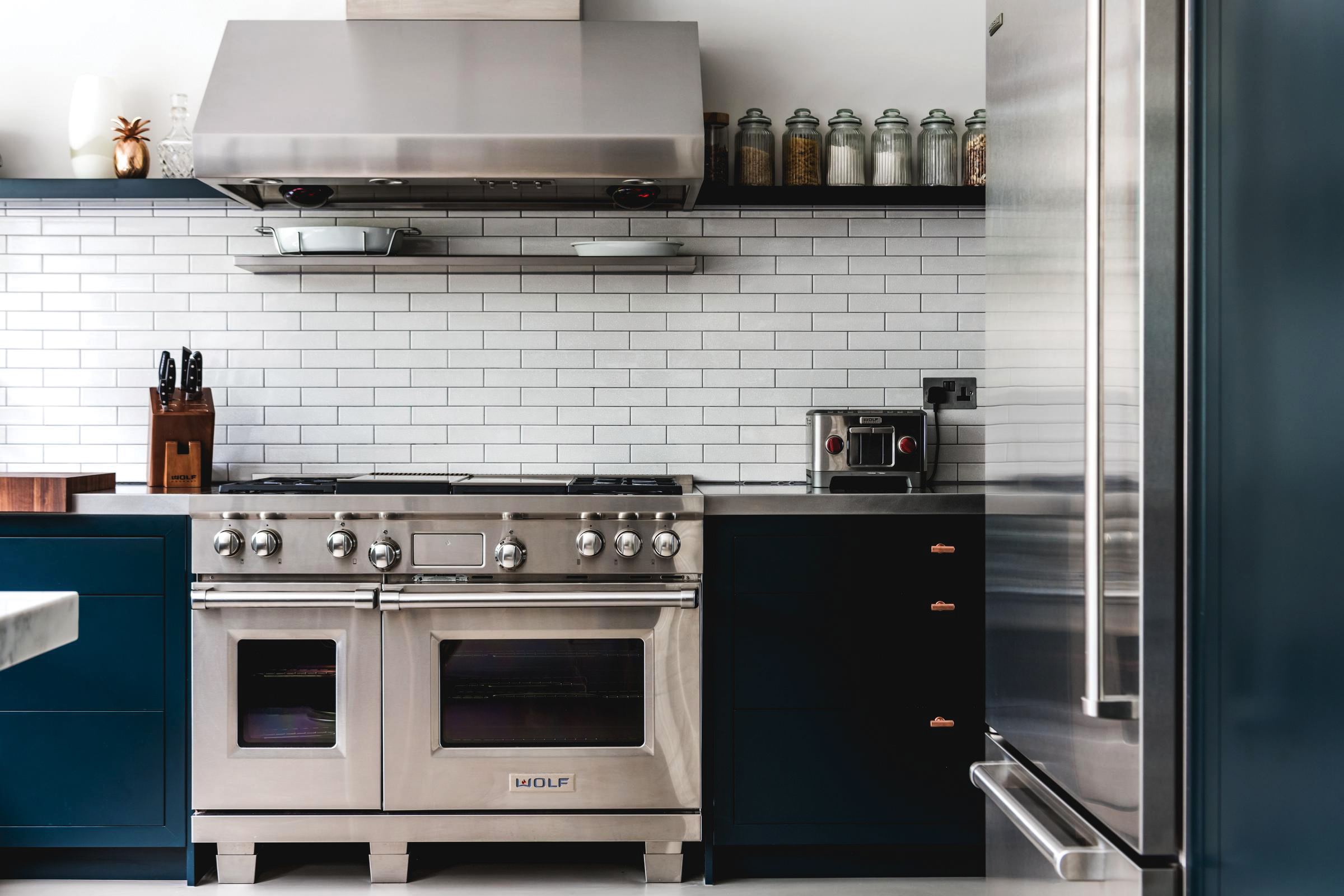 3 - DUAL FUEL RANGE WITH CHARBROILER AND GRIDDLE