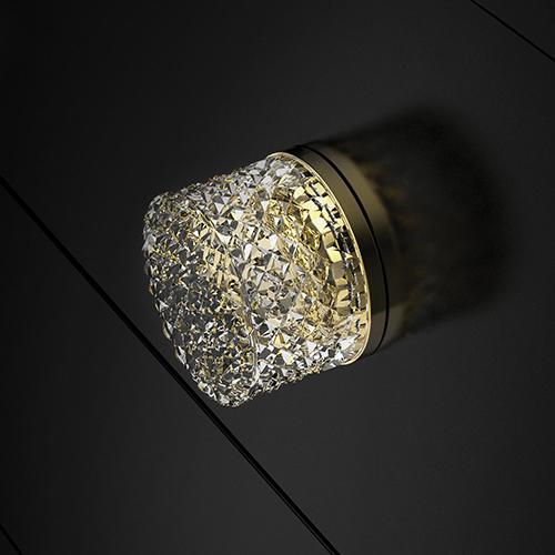 6 - Princess Knob Gold