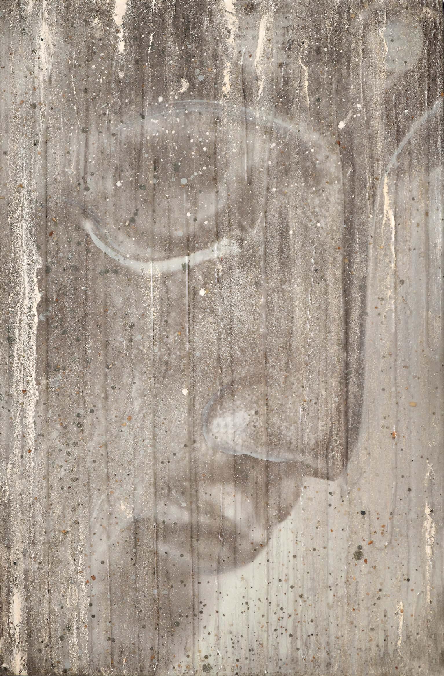 1 - Buddha Profile In Cream