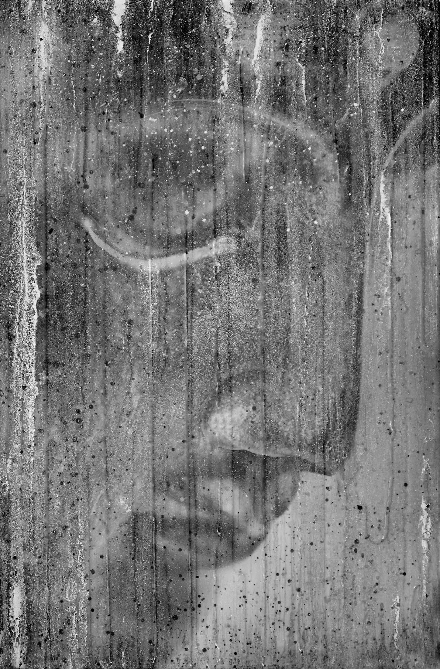 2 - Buddha Profile In Silver