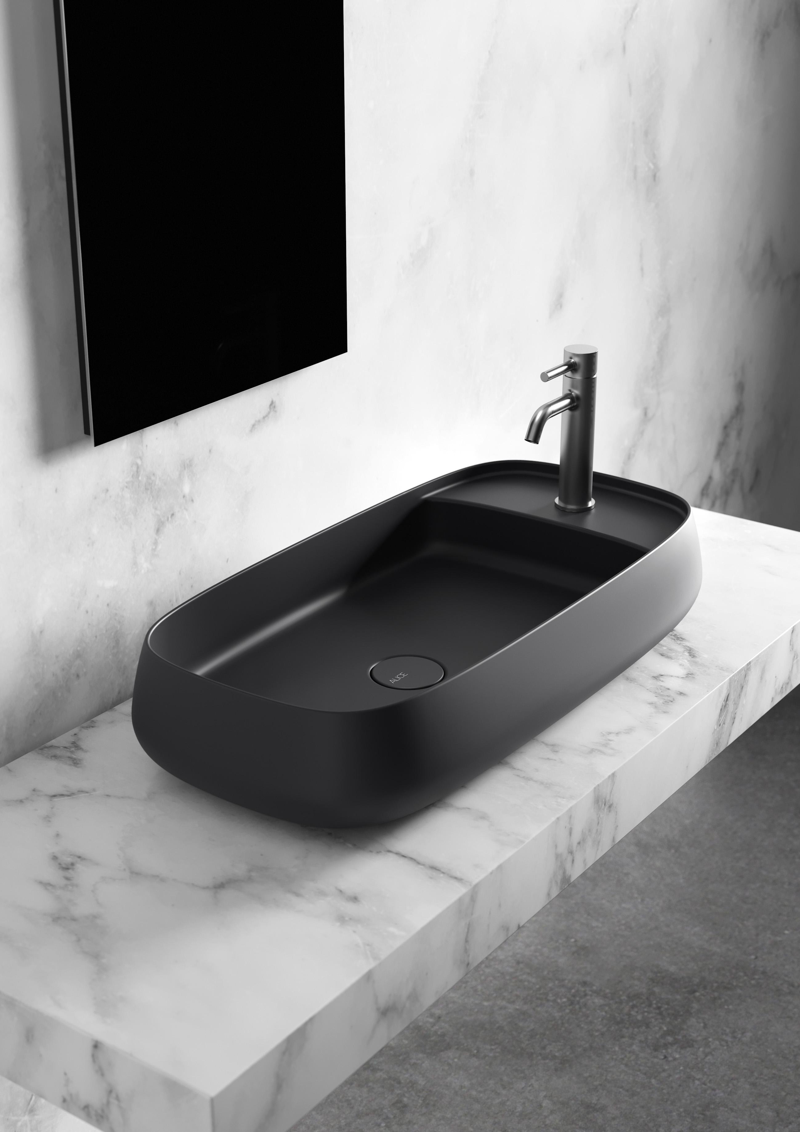 2 - Nur Washbasin 80 x 40cm Plan