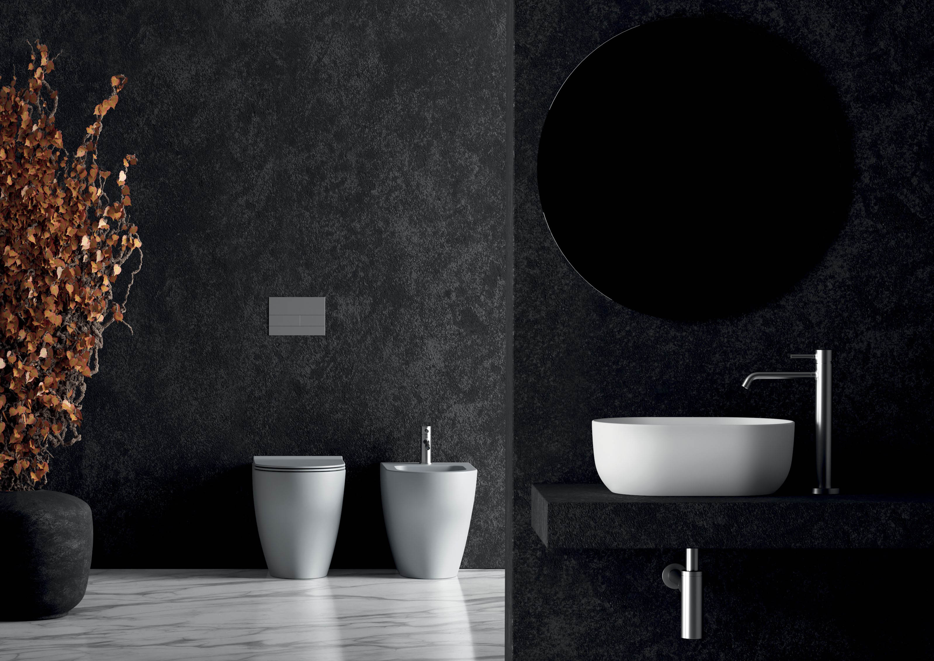 4 - Unica Washbasin 45 × 32cm