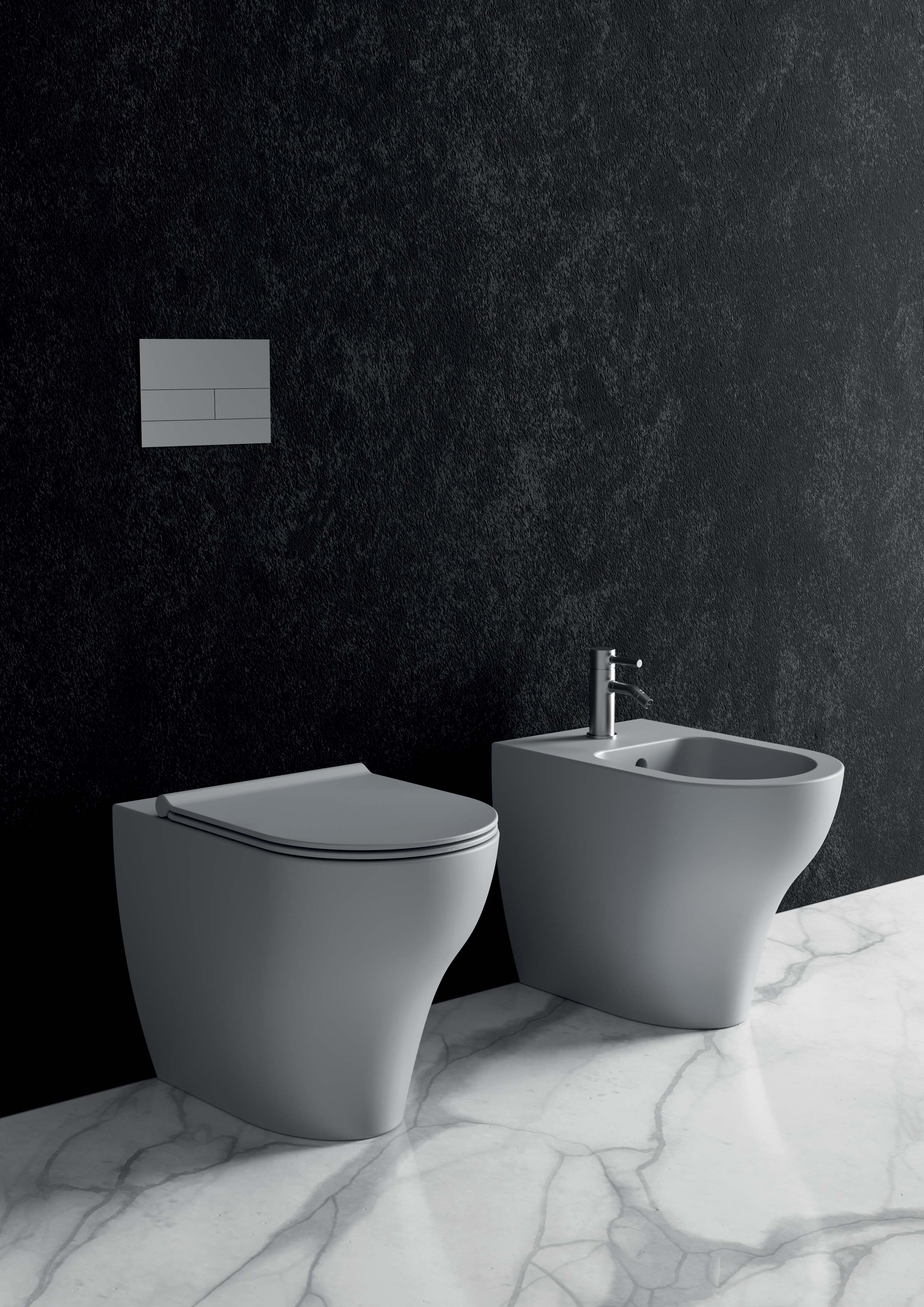 5 - Unica WC Rimless _ Unica Bidet