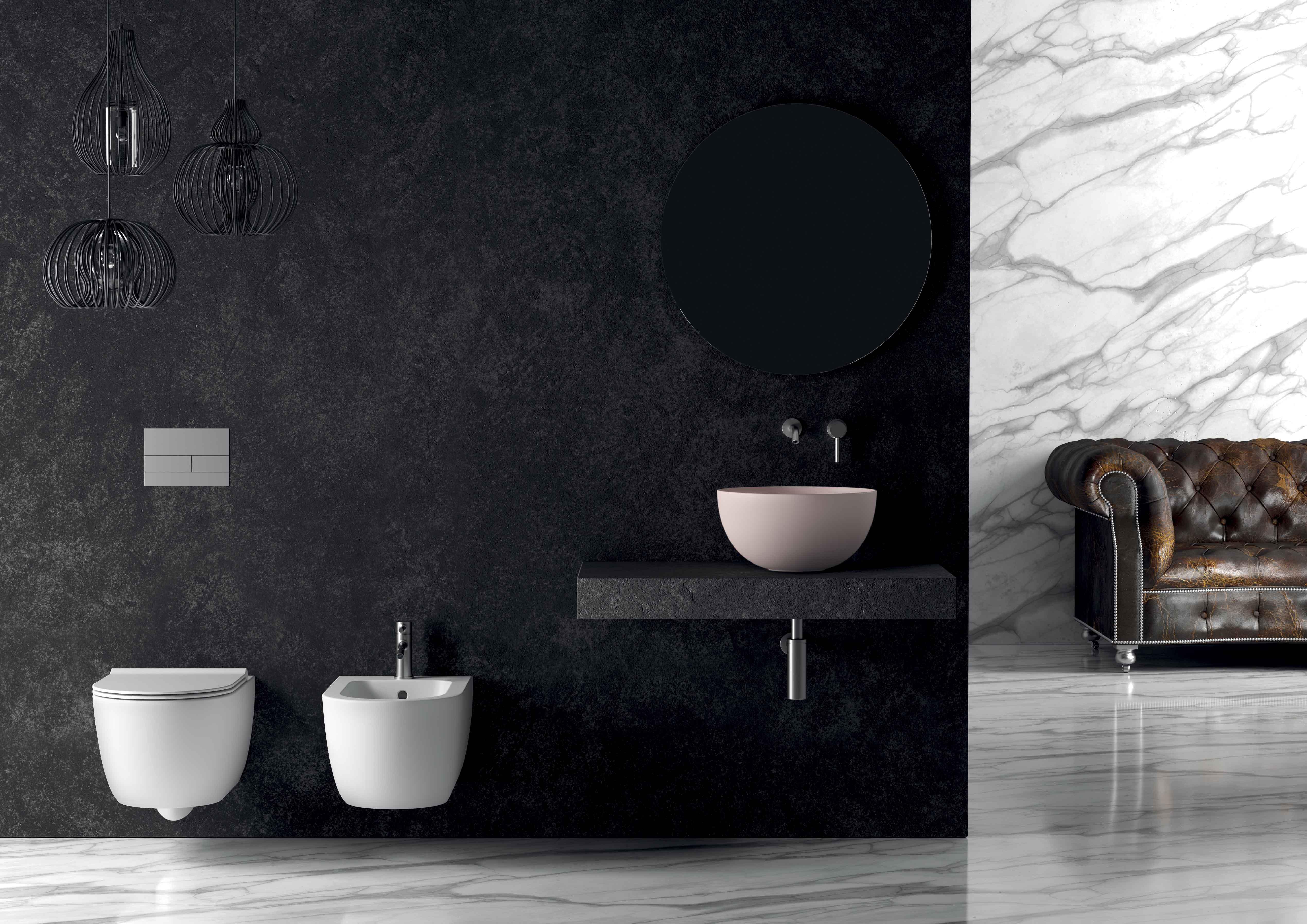 9 - Unica Round Washbasin ø40cm H20